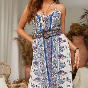 Paisley Bohemian Dream Maxi Dress
